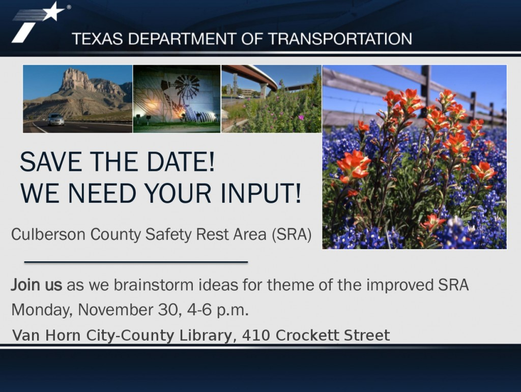 TxDOT Rest Area Session LIBRARY