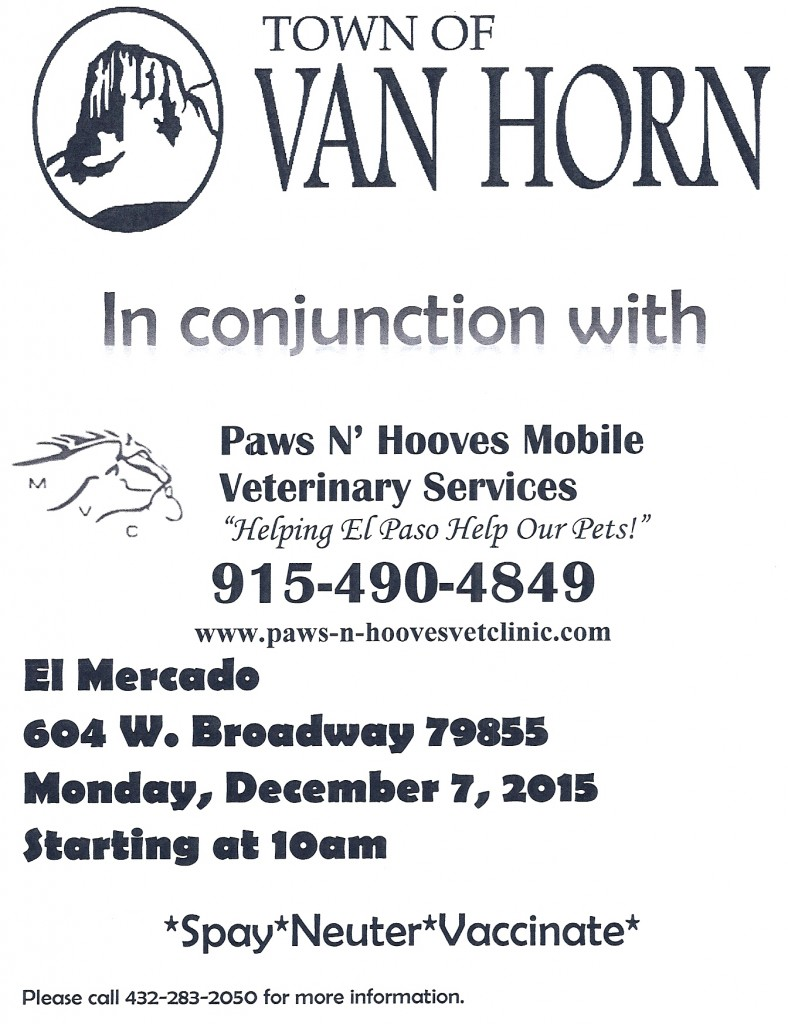December 7, 2015 Veterinarian Clinic